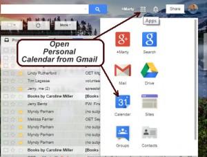 OpenGoogleCalendar